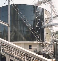 Tropfkörper Papierfabrik Haindl Schongau