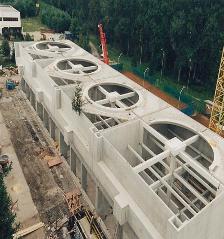 Kühlturmanlage Kraftwerk Timelkam