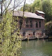Traun-Kraftwerk Gschröff